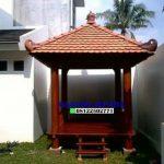 Gazebo Atap Sirap Terbaru