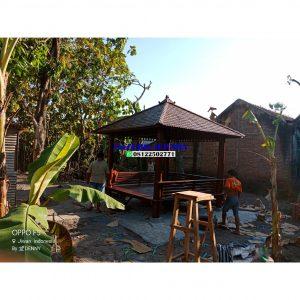 Gazebo kayu kelapa atap 300x300 - Gazebo kayu kelapa atap sirap