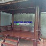 Gazebo murah kayu glugu (2)