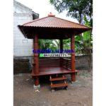 saung atap sirap minimalis