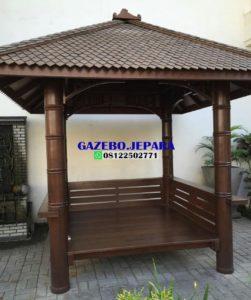 gazebo model genteng