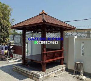 saung gazebo atap genteng