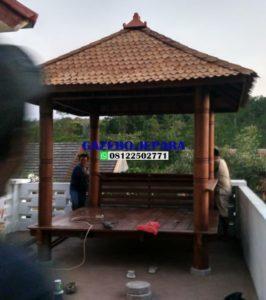 saung gazebo atap sirap