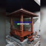 saung gazebo model ukir