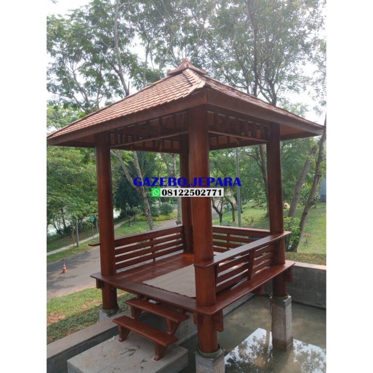Gazebo atap sirap ukuran 2x2.. 768x768 - Gazebo atap sirap ukuran 2x2..